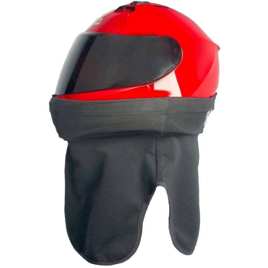 Collare Tubolare Elastico per Casco OJ BLOCK F059 Nero 1