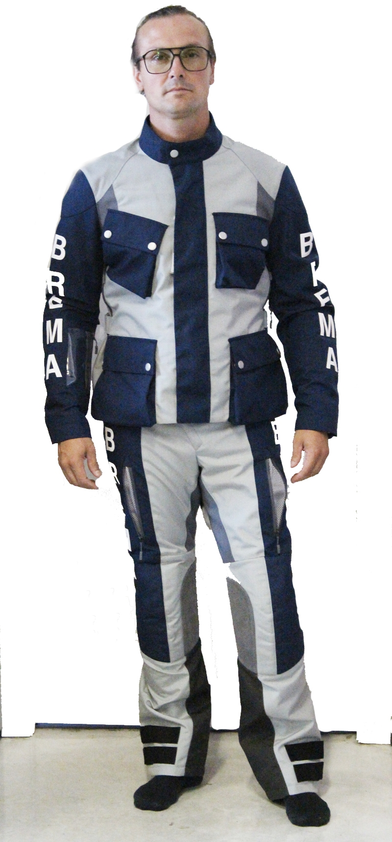 Giacca e pantalone Brema SILVER VASE ADVS-Man Navy Grey 1