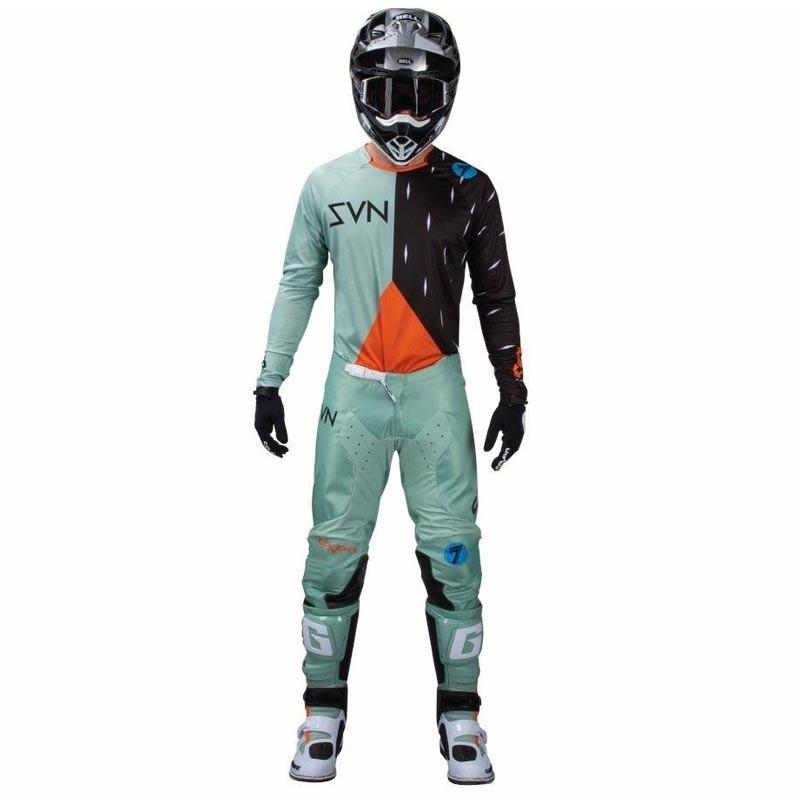 Completo cross Seven ANNEX BORTZ PASTE 2020 pantaloni+maglia 1