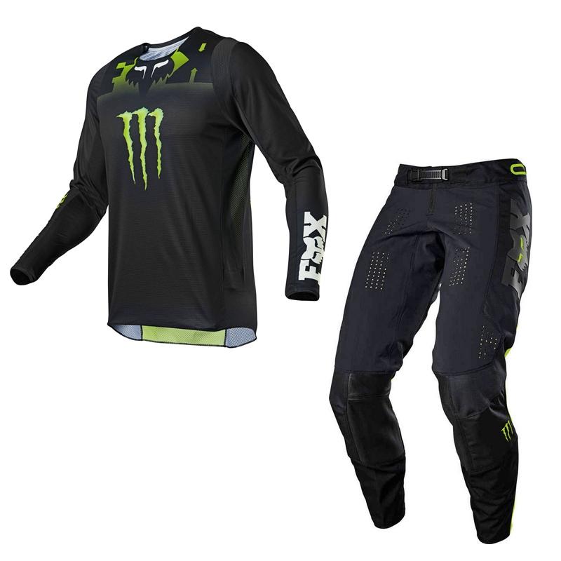 Completo cross enduro Fox 360 MONSTER 2021 pantaloni+maglia 1