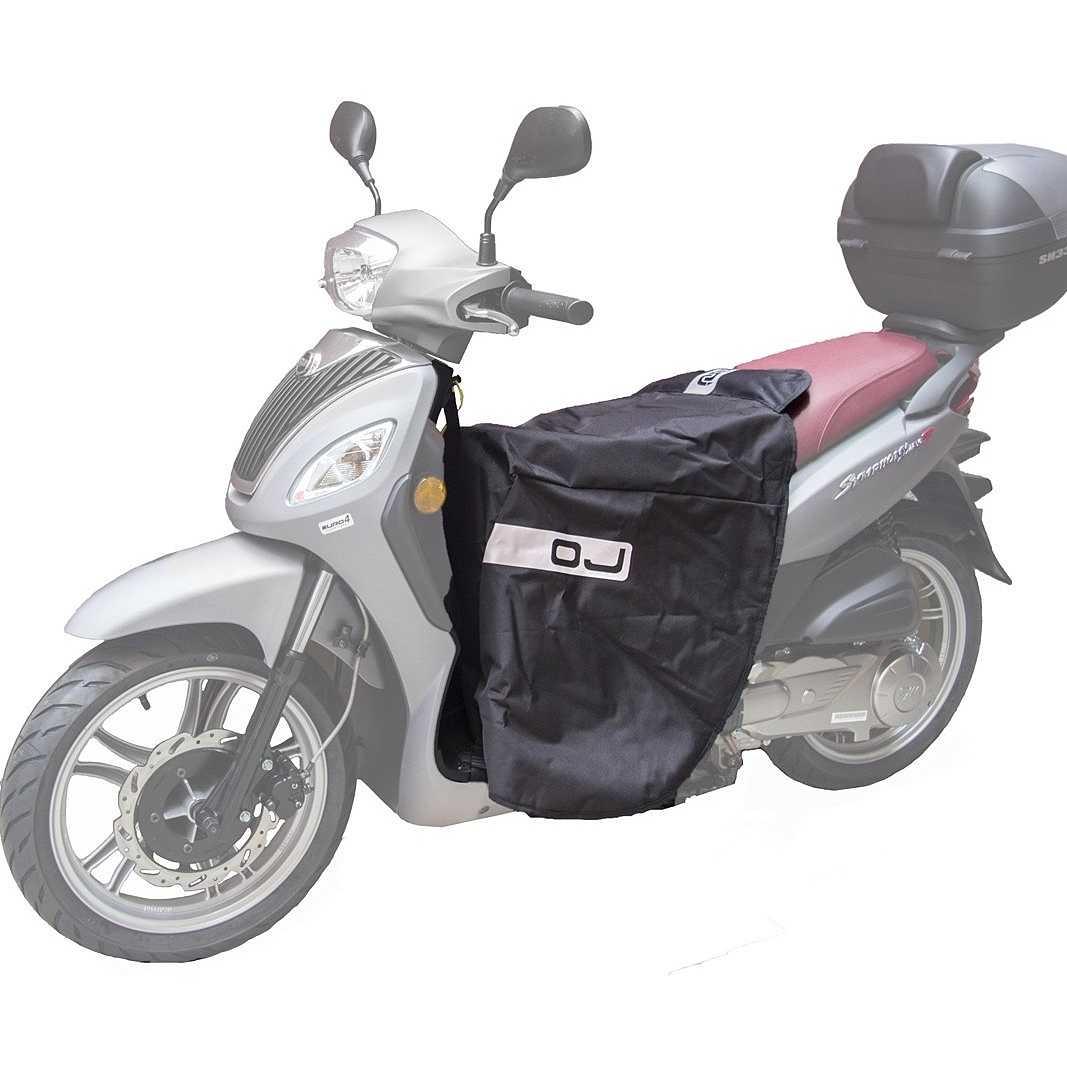 Coprigambe universale per scooter OJ C002 Fast Nero 1