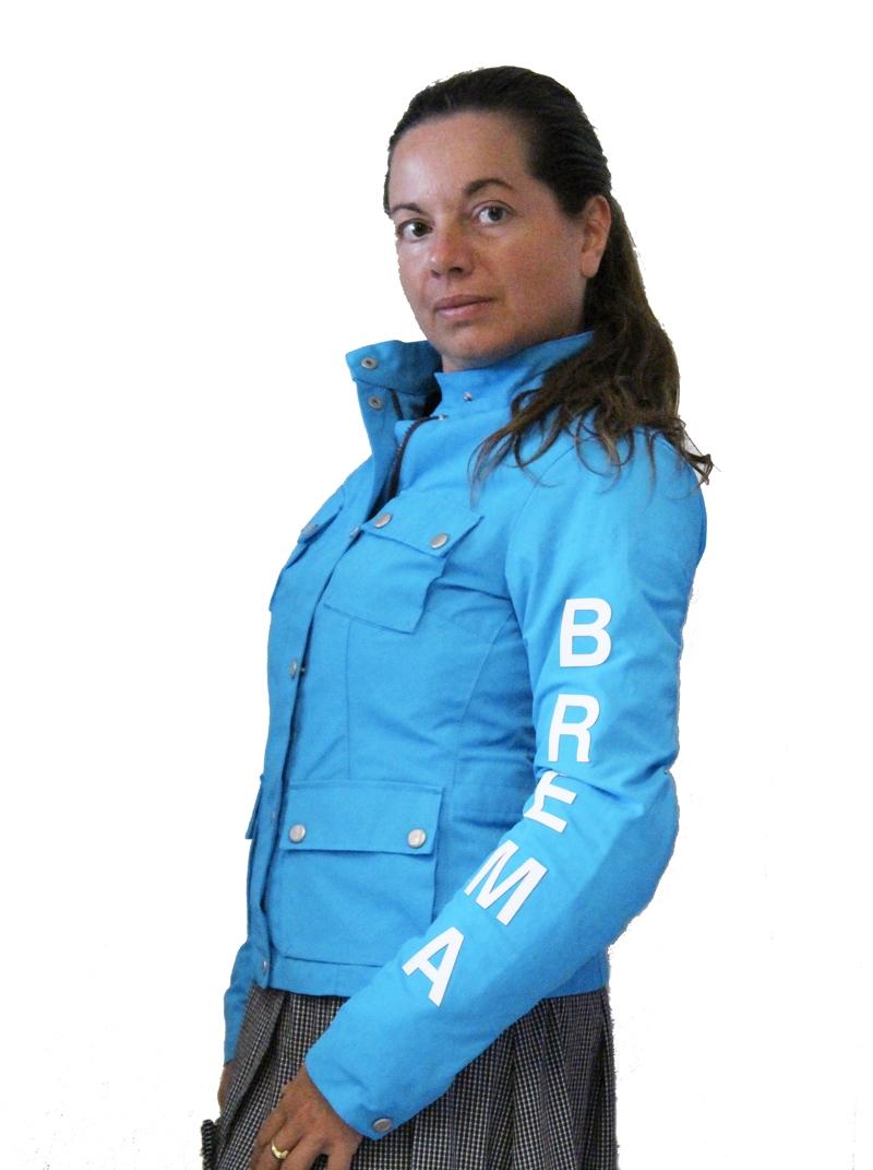 Giacca moto donna Brema SILVER VASE J-Women Turchese 1