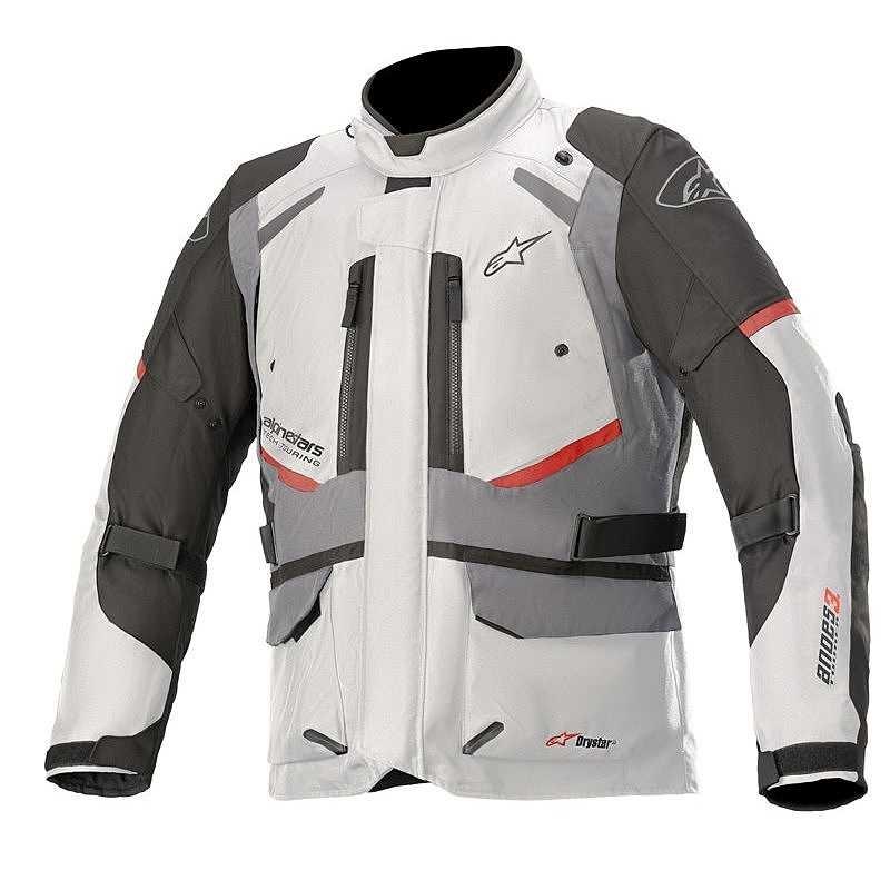 Giacca moto Alpinestars ANDES V3 Drystar ghiaccio grigio scuro 1