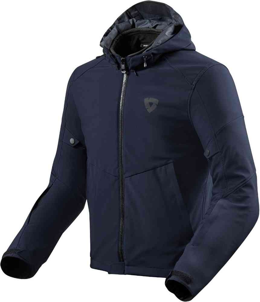 Giacca moto urbana Rev'it AFTERBURN blu navy 1