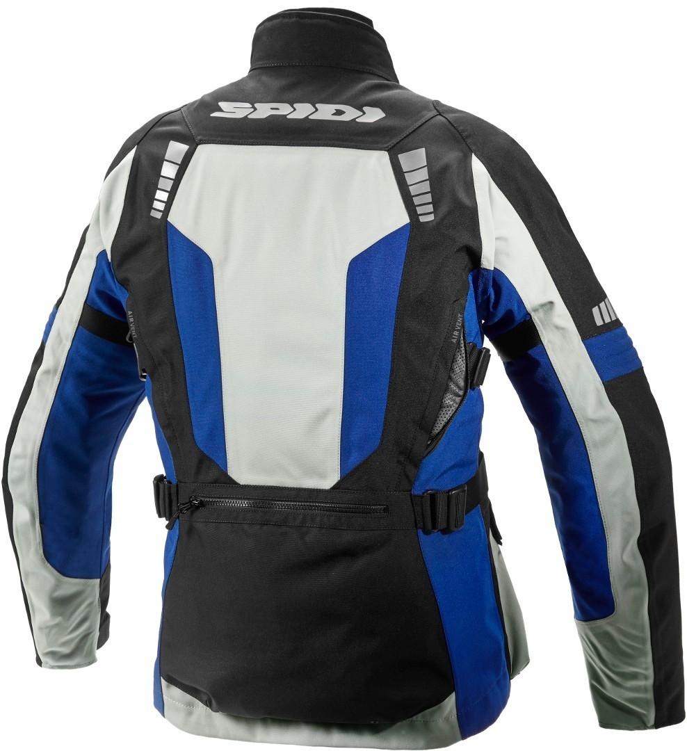 Giacca moto Spidi OUTLANDER H20UT ghiaccio blu 2