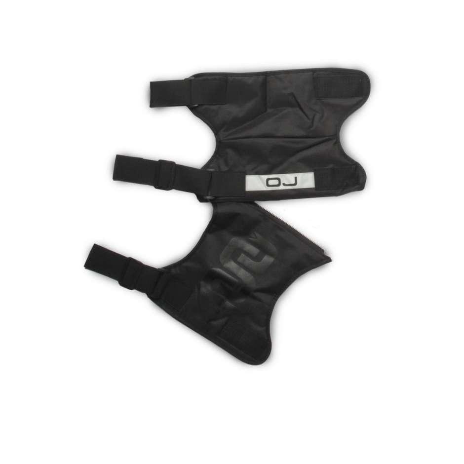 Ginocchiere termiche divisibili OJ LONG KNEE F006 Black 2