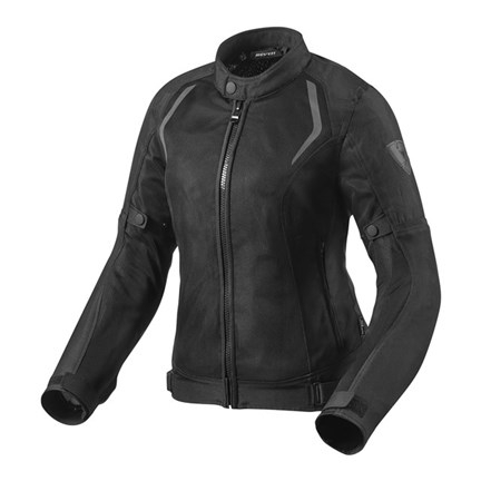 Giubbino moto donna ventilato Rev'it TORQUE LADIES Nero 1