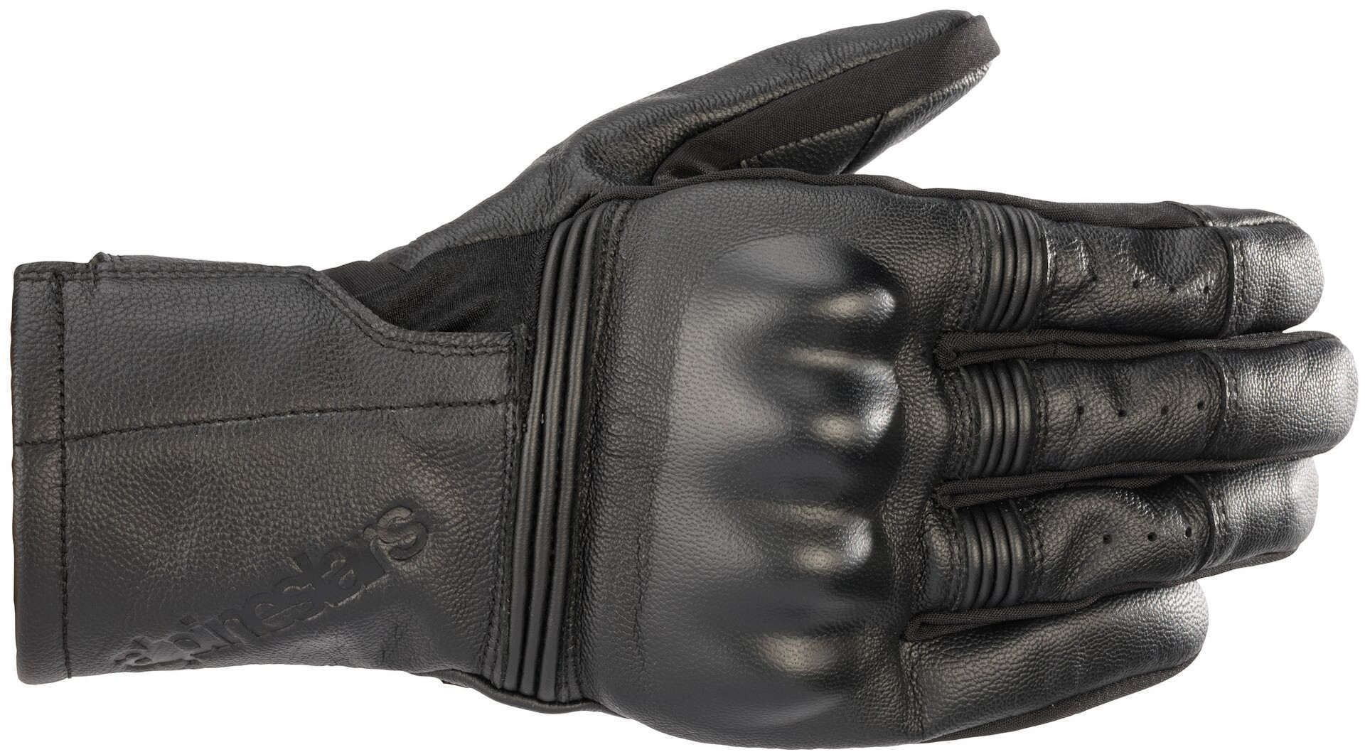 Guanti pelle Alpinestars GARETH LEATHER nero 1