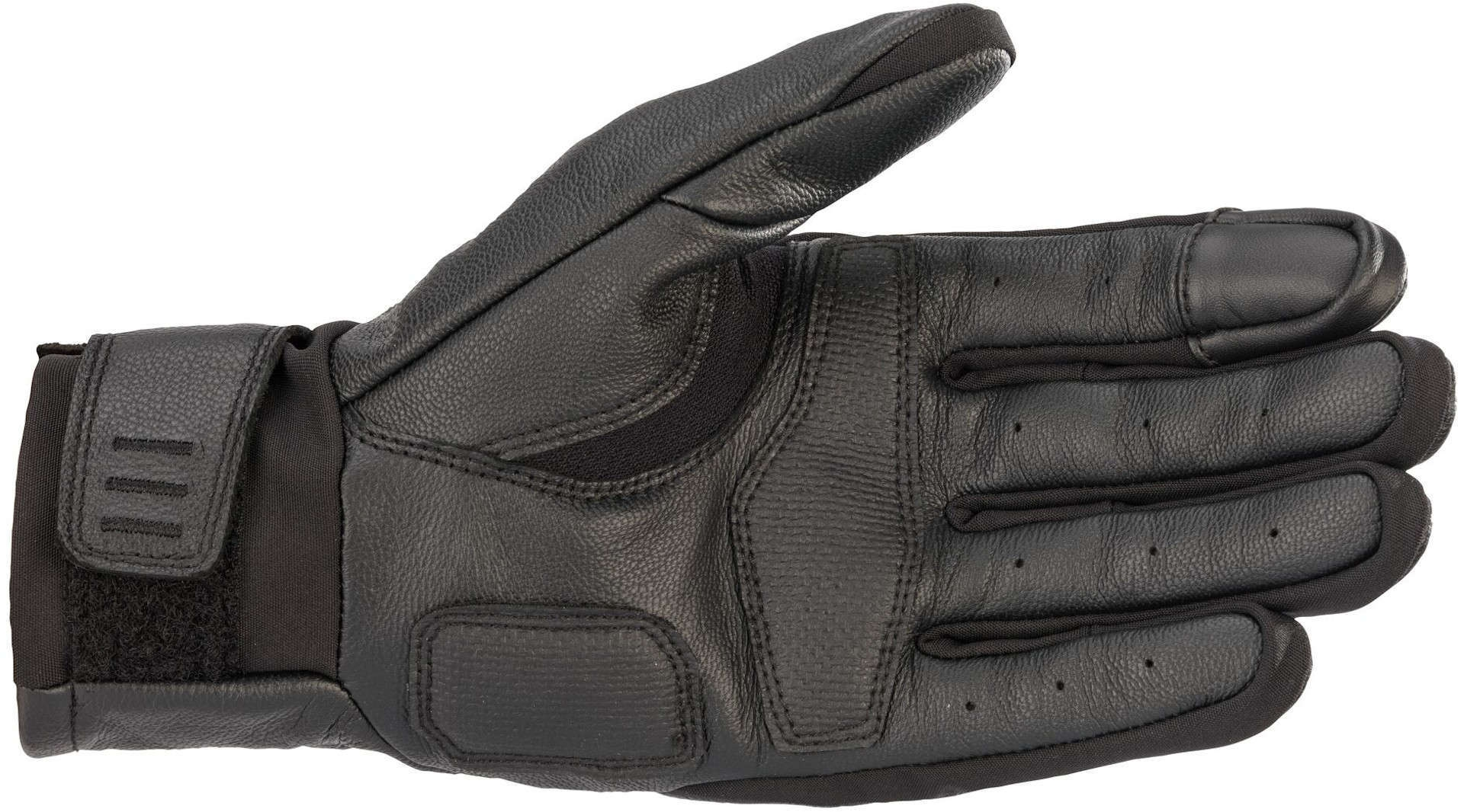 Guanti pelle Alpinestars GARETH LEATHER nero 2