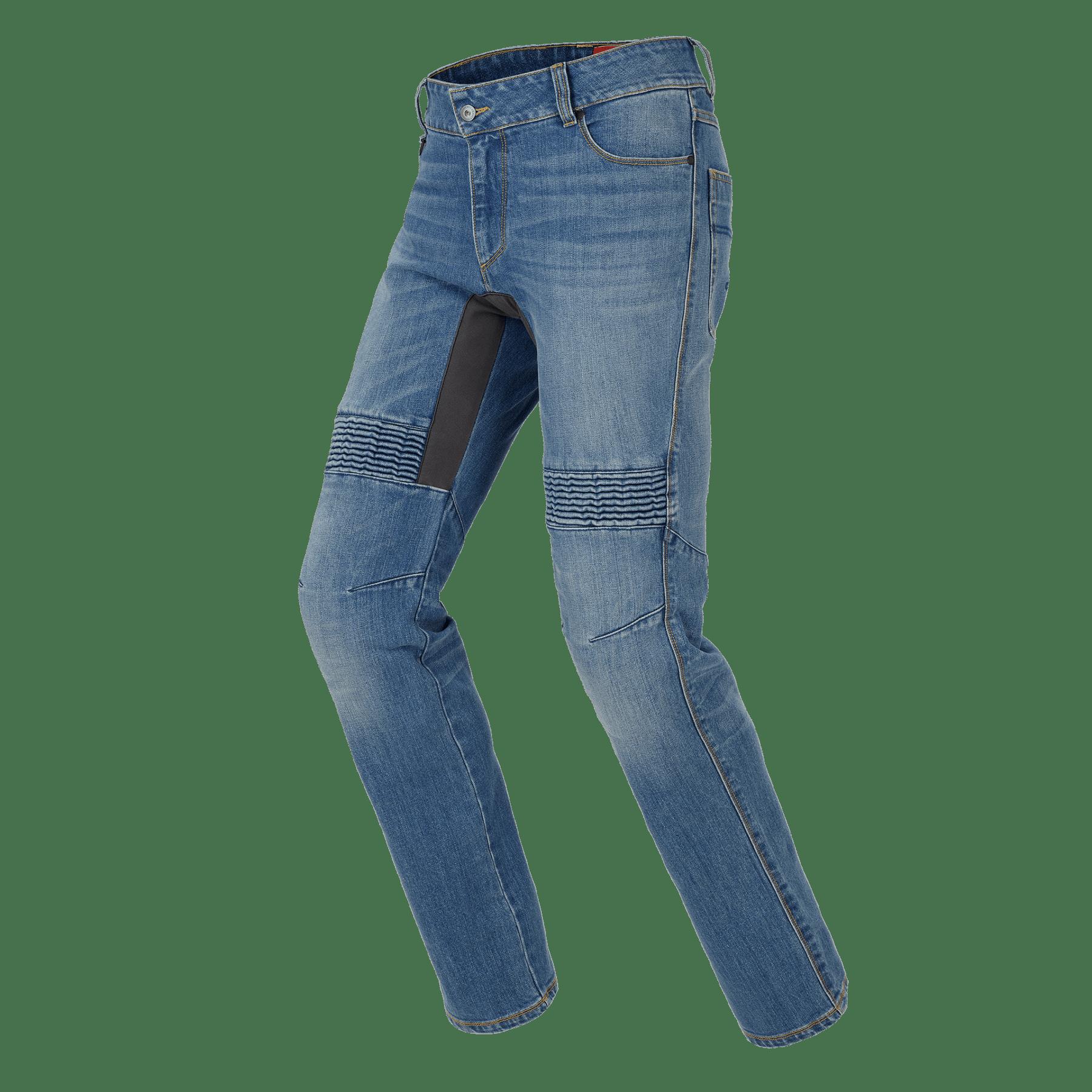 Jeans da moto con protezioni Spidi FURIOUS PRO Blu Used Medium 3
