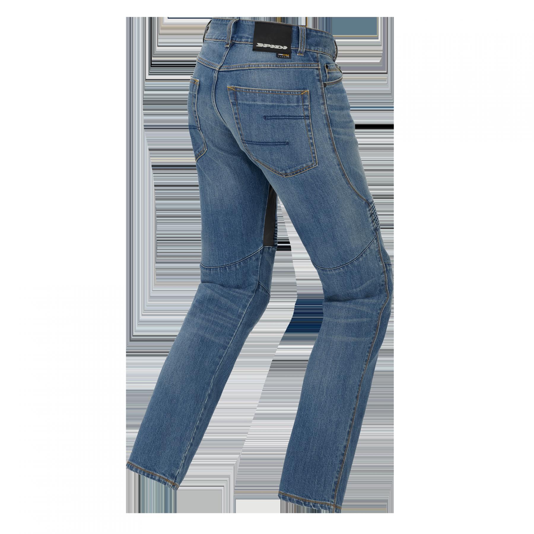 Jeans da moto con protezioni Spidi FURIOUS PRO Blu Used Medium 4