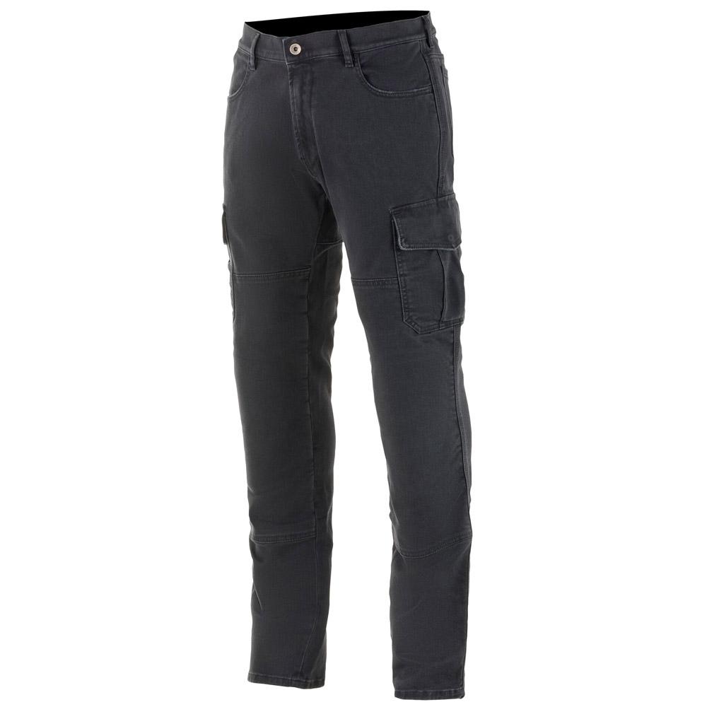 Jeans da moto con protezioni Alpinestars BARTON RID CARGO PANTS Nero 1