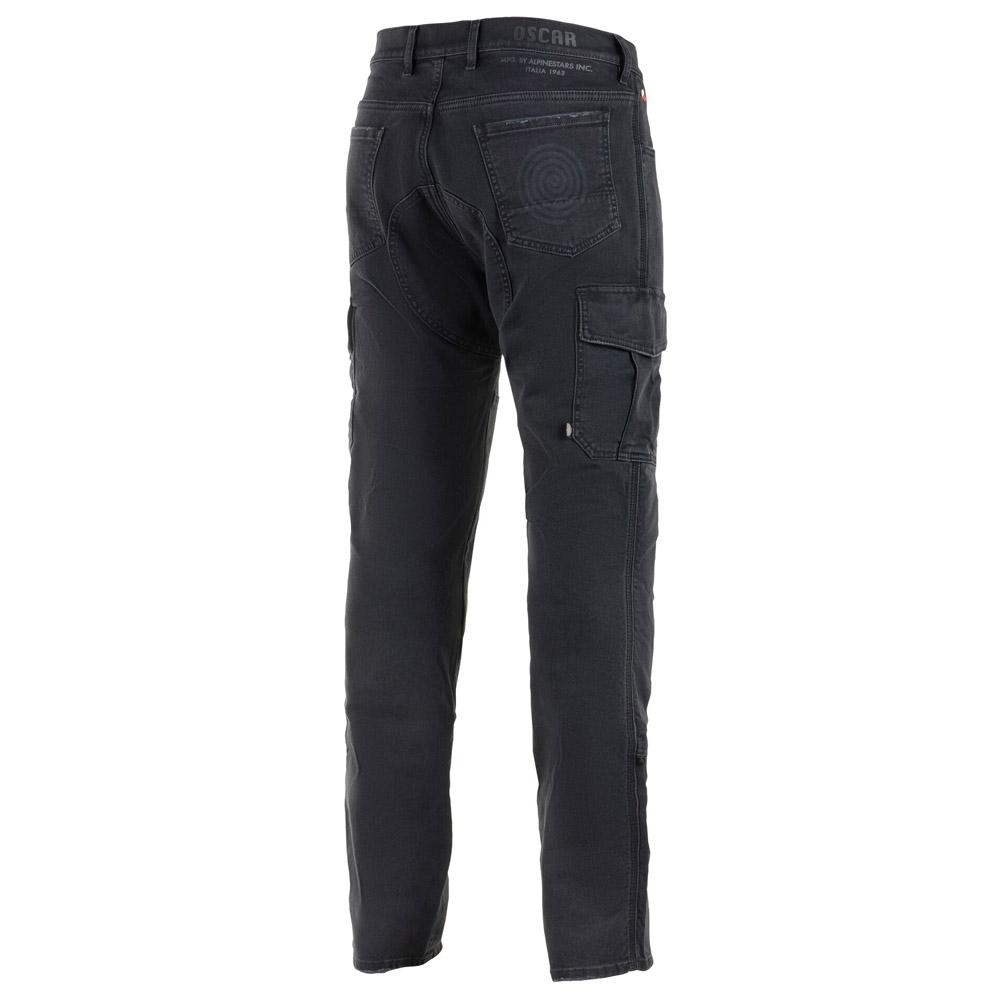 Jeans da moto con protezioni Alpinestars BARTON RID CARGO PANTS Nero 2
