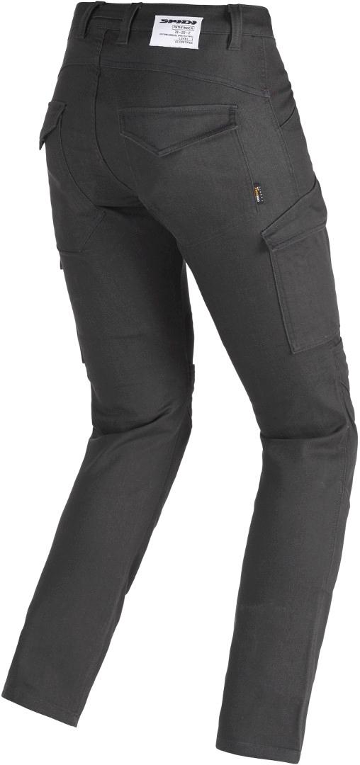 Jeans da moto con protezioni Spidi PATHFINDER CARGO Antracite 4