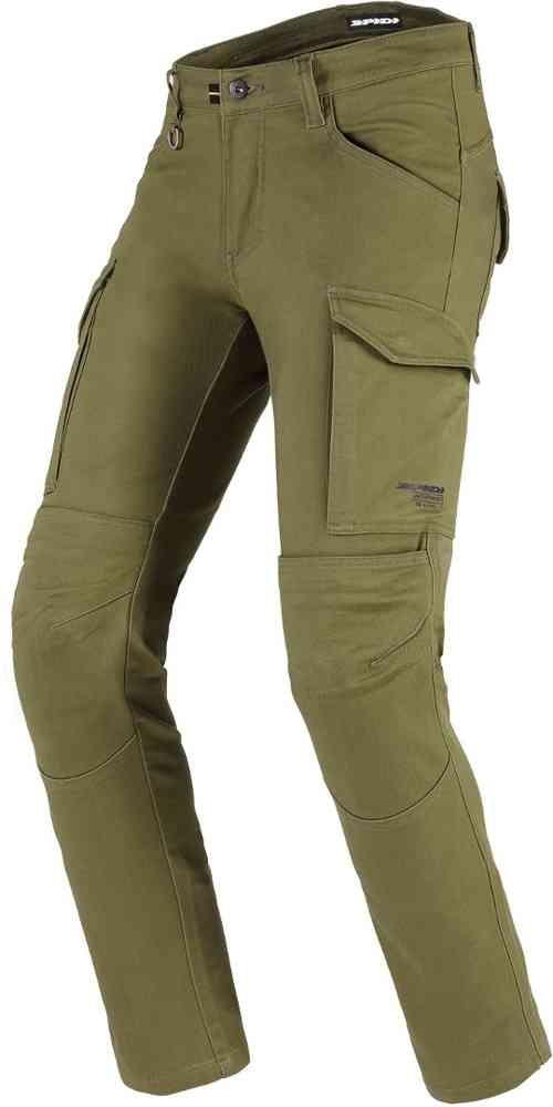 Jeans da moto con protezioni Spidi PATHFINDER CARGO Verde Militare 1