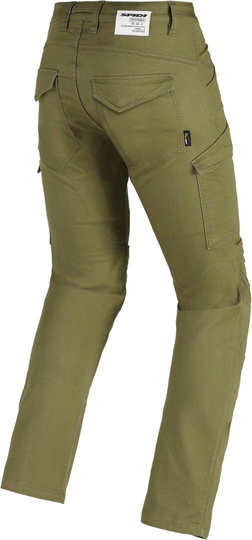 Jeans da moto con protezioni Spidi PATHFINDER CARGO Verde Militare 3