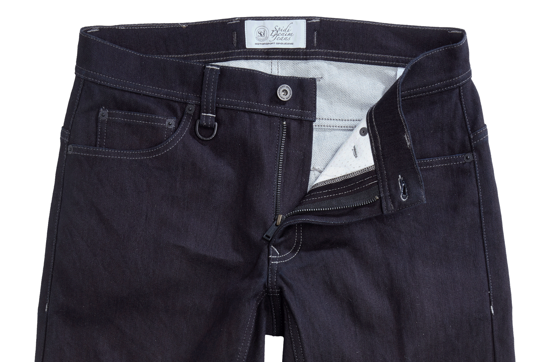 Jeans da moto Spidi con protezioni J&DYNEEMA EVO Nero 3