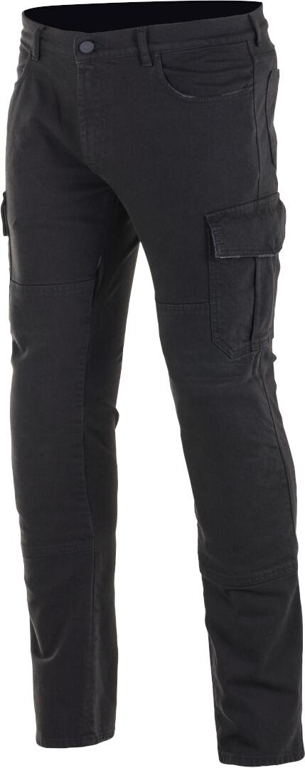 Jeans da moto con protezioni Alpinestars CARGO RIDING PANTS Nero 1