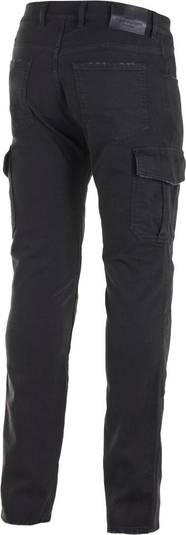 Jeans da moto con protezioni Alpinestars CARGO RIDING PANTS Nero 2