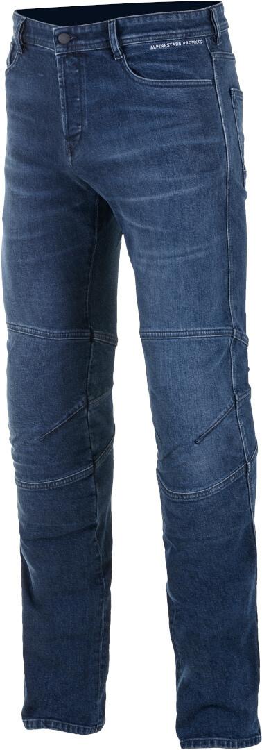 Jeans da moto con protezioni Alpinestars AS-DSL DAIJI RID DENIM blue 1