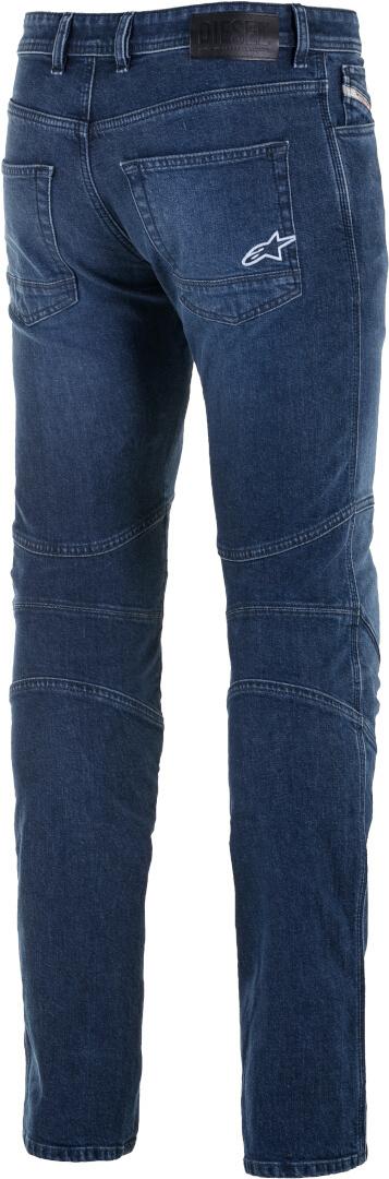 Jeans da moto con protezioni Alpinestars AS-DSL DAIJI RID DENIM blue 2
