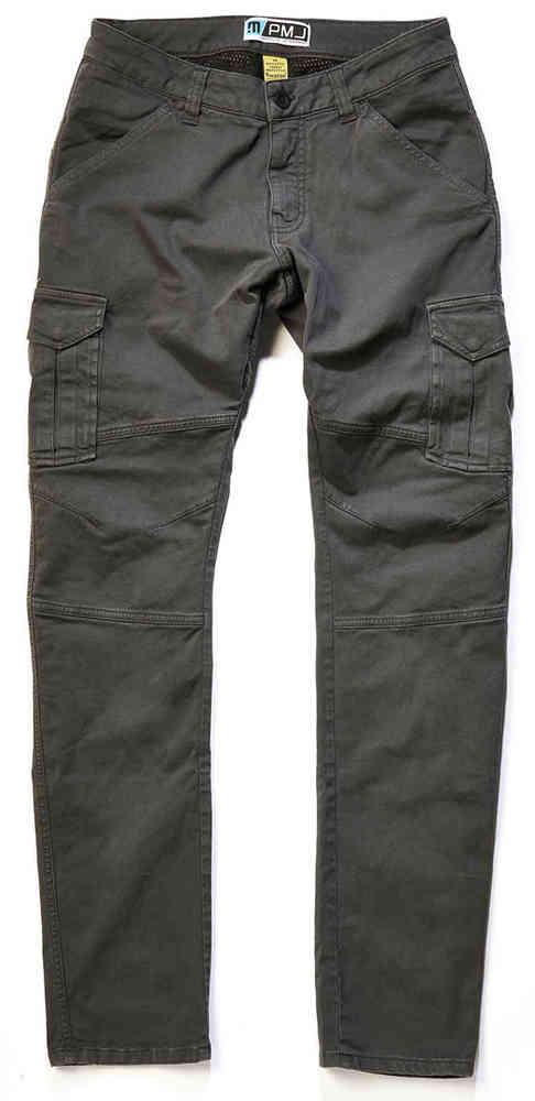 Pantaloni da moto con protezioni e Twaron® PMJ SANTIAGO grey 1