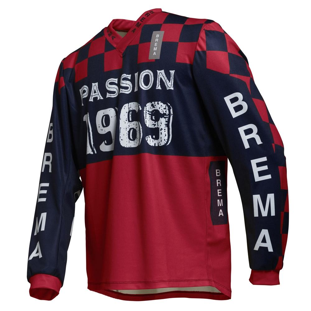 Maglia cross Brema TROFEO CHESS PASSION SW Rosso 1