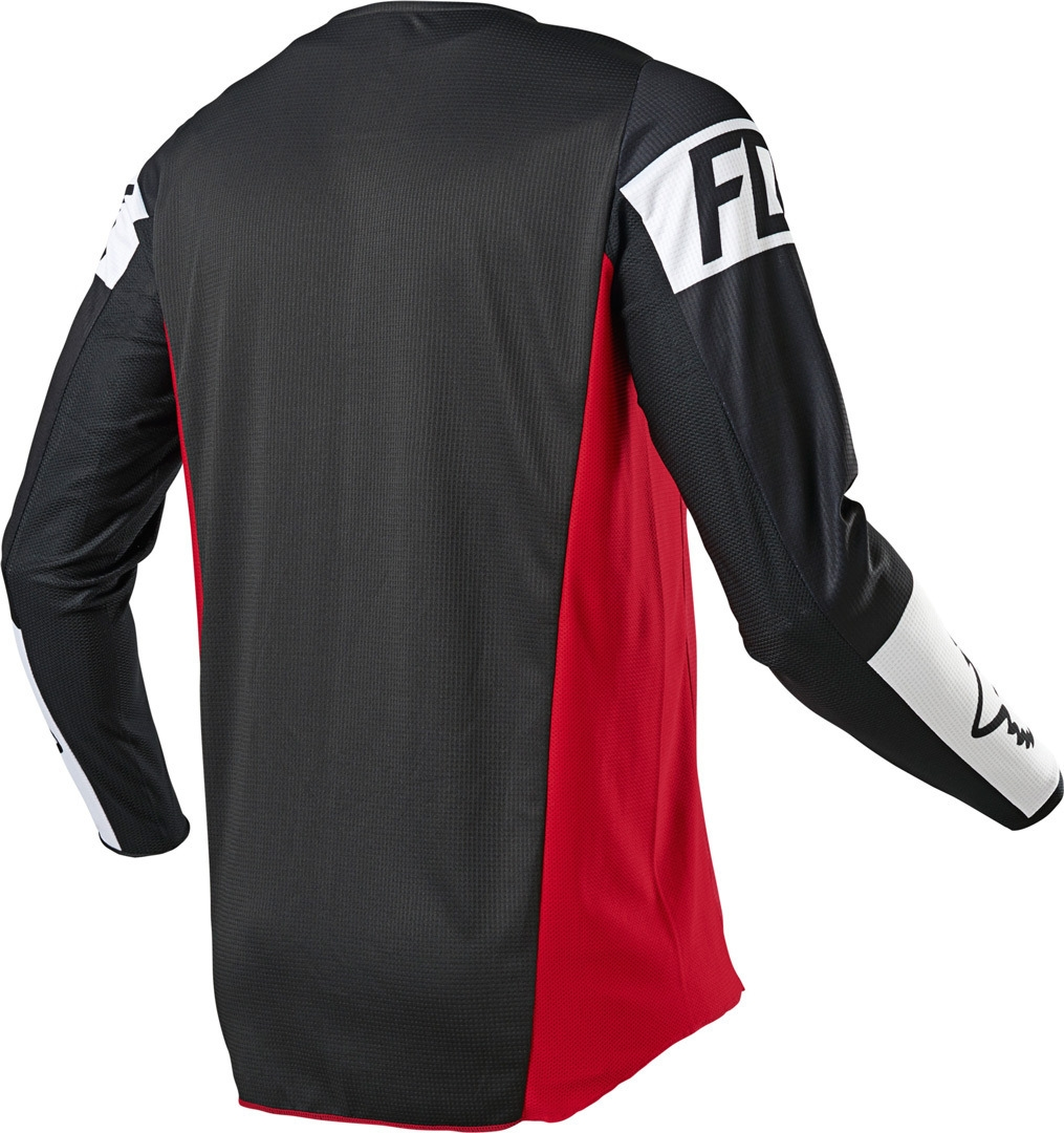 Completo cross enduro Fox 180 REVN flame red 2021 pantaloni+maglia 3