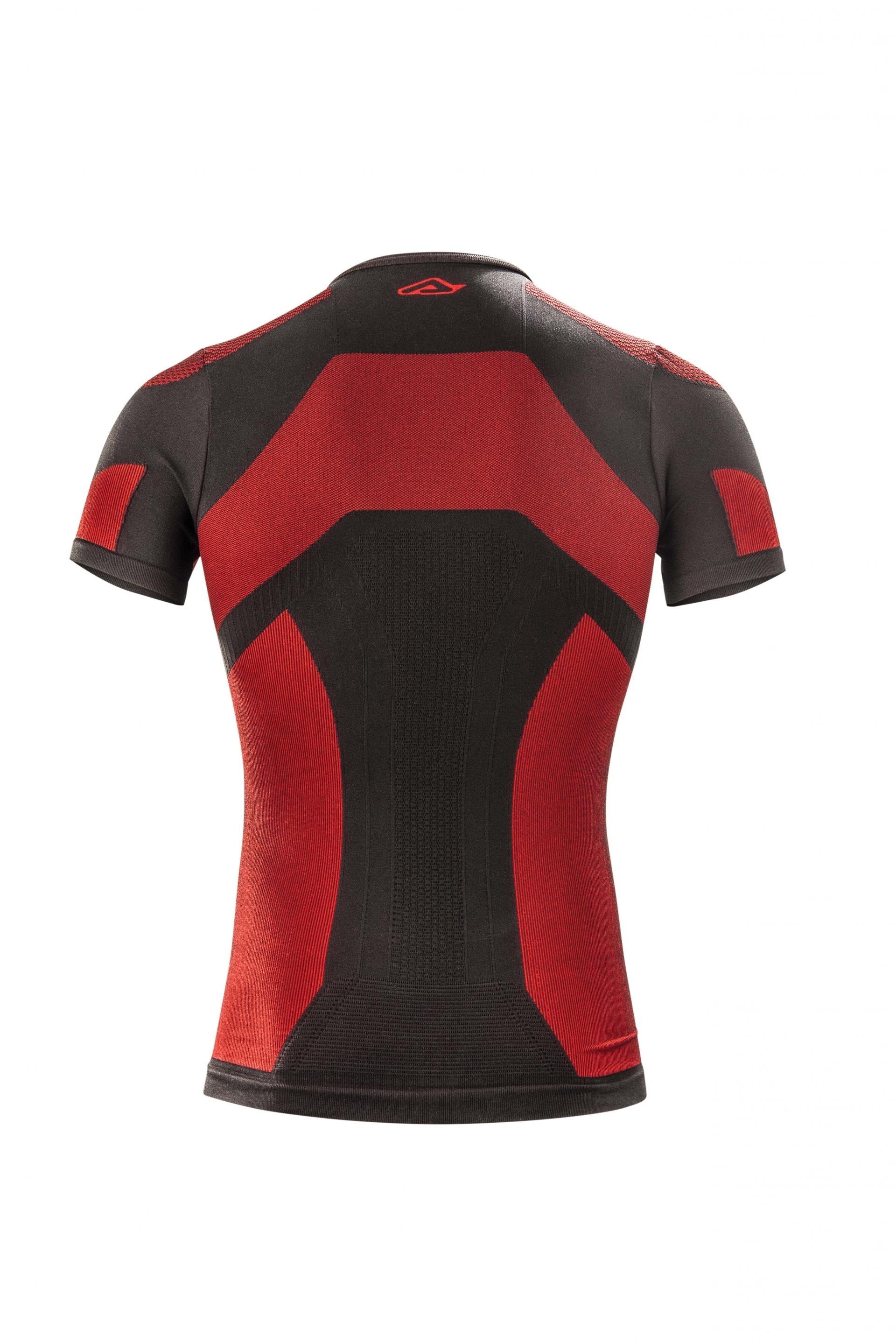 Maglia intima Acerbis X-BODY SUMMER Nero Rosso 2