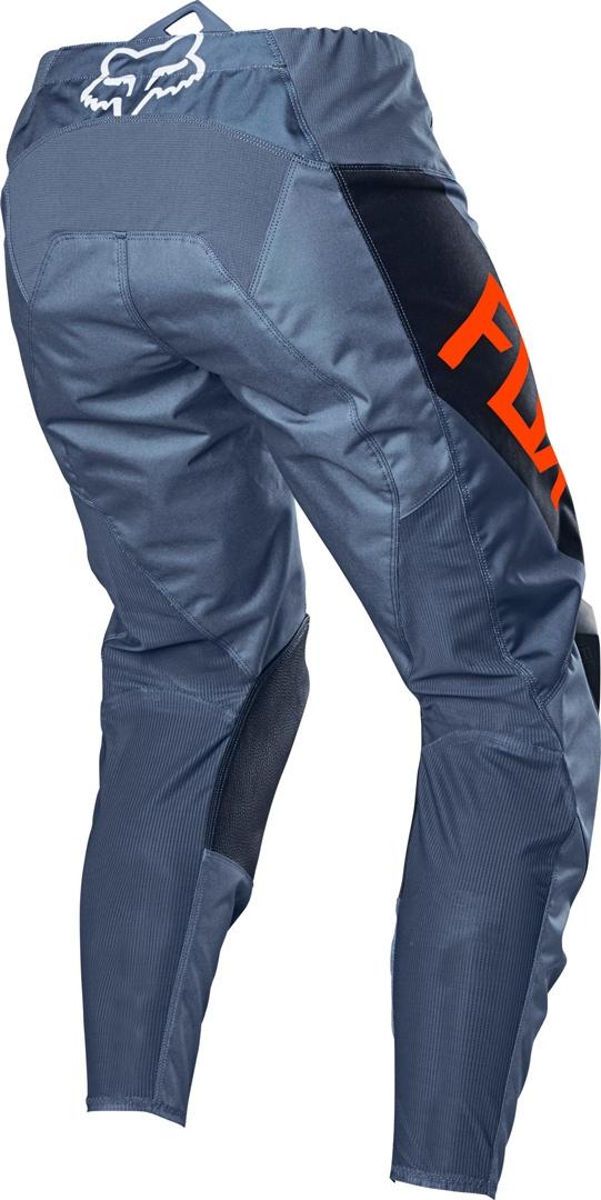 Completo cross enduro Fox 180 REVN blue steel 2021 pantaloni+maglia 2