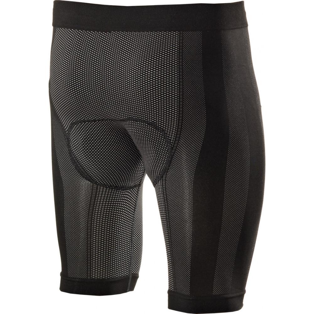 Shorts con fondello termoregolanti SIXS black carbon 2