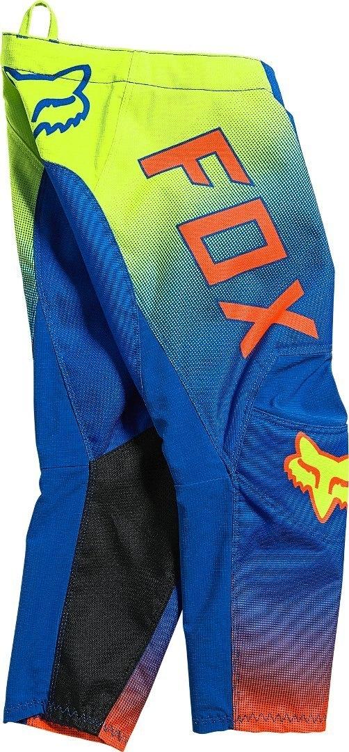 Completo cross bambino 4-5 anni Fox KIDS 180 OKTIV Blue 2021 pantaloni+maglia 3