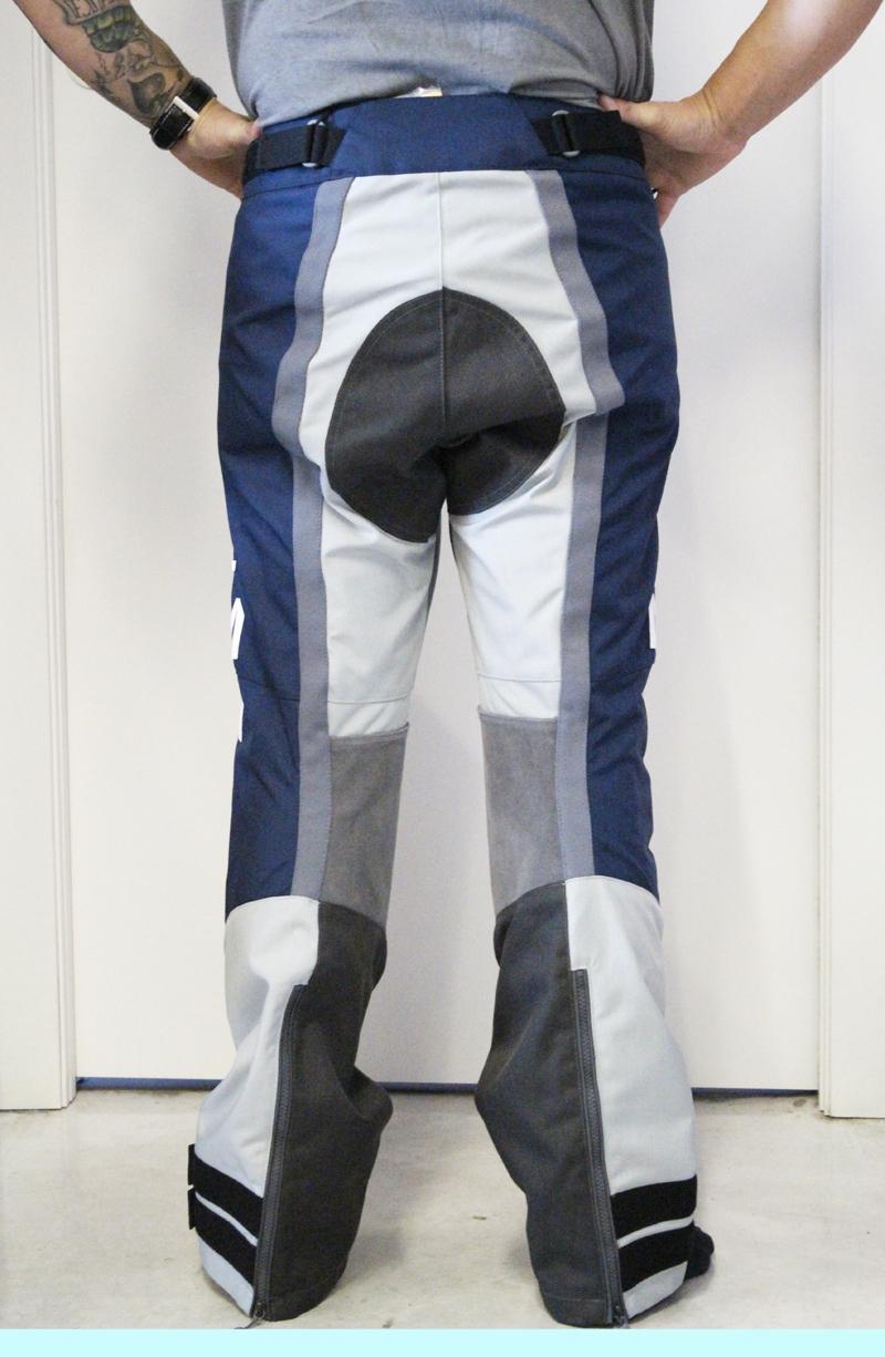 Pantaloni moto Brema SILVER VASE ADVS P-Man Blu Navy Grey 3