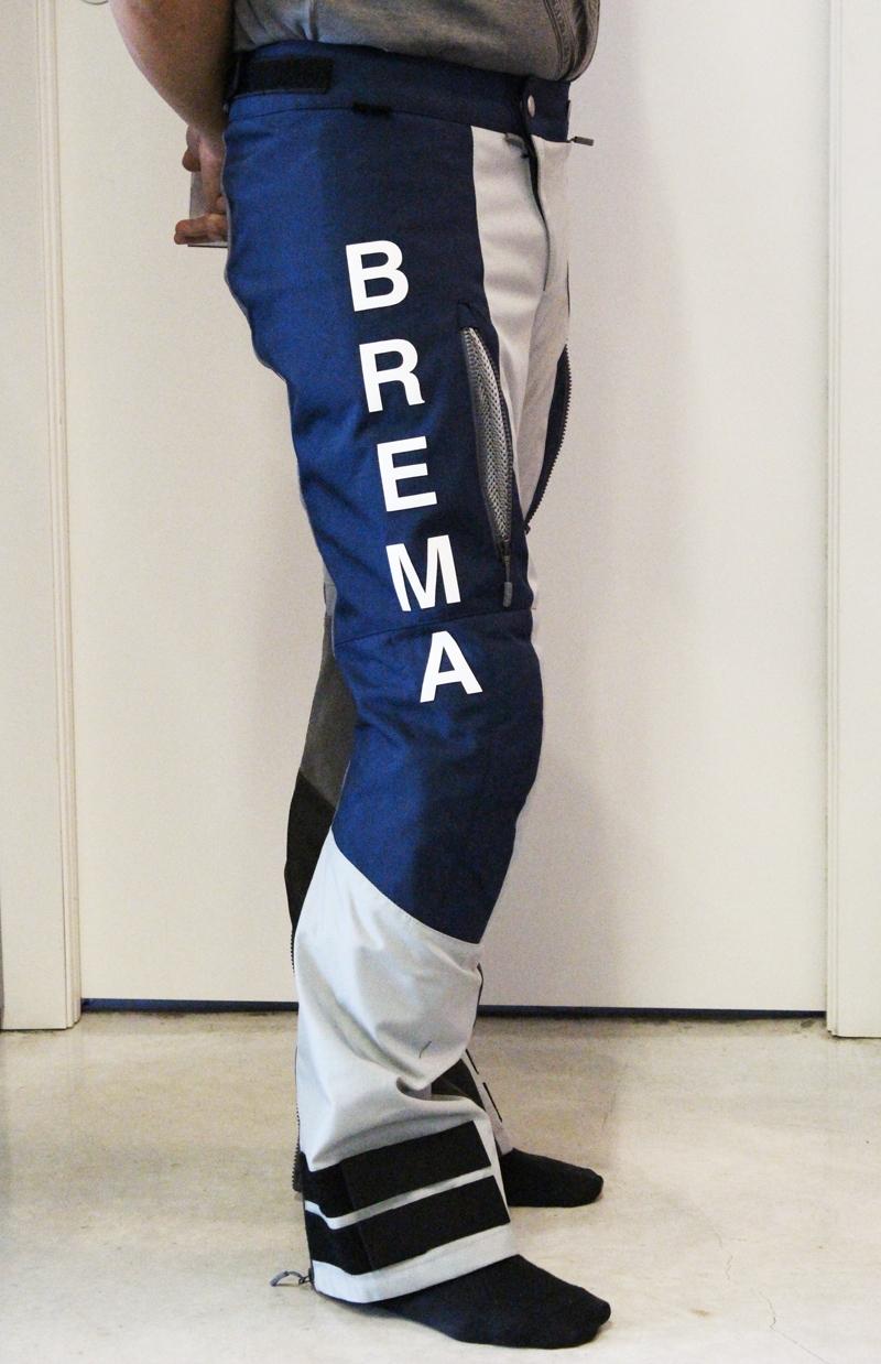 Pantaloni moto Brema SILVER VASE ADVS P-Man Blu Navy Grey 2