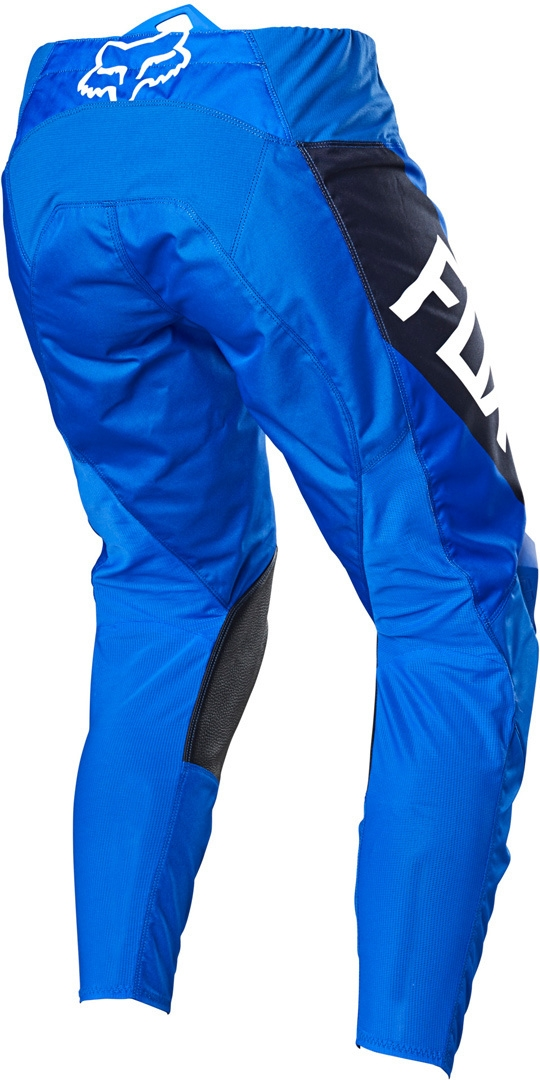 Completo cross bambino Fox 180 REVN 2021 blue pantaloni+maglia 2
