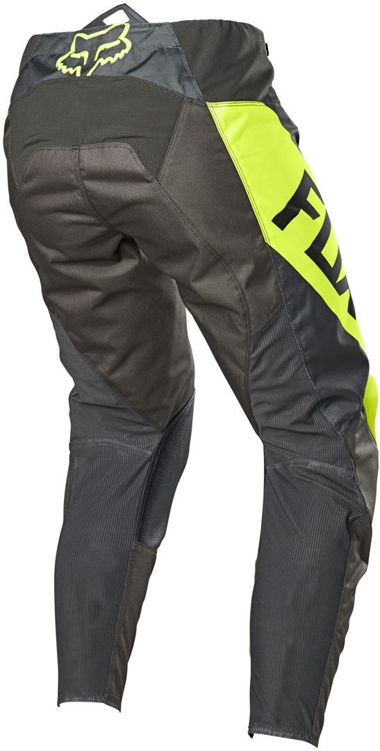 Completo cross bambino Fox 180 REVN 2021yellow fluo pantaloni+maglia 3