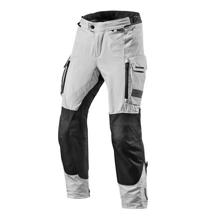 Pantaloni moto Rev'it OFFTRACK Argento Nero 1