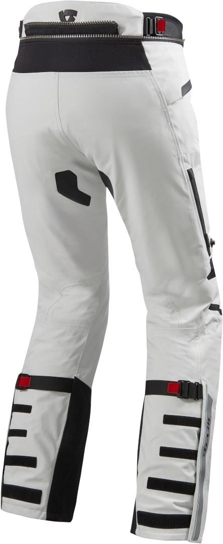 Pantaloni moto Rev'it POSEIDON 2 GTX Gore-Tex laminato Argento Nero 2