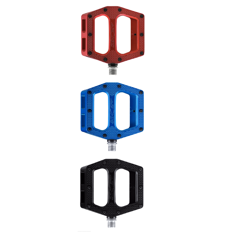 Coppia pedali downhill alluminio pressofuso Azonic PUCKER UP vari colori 1