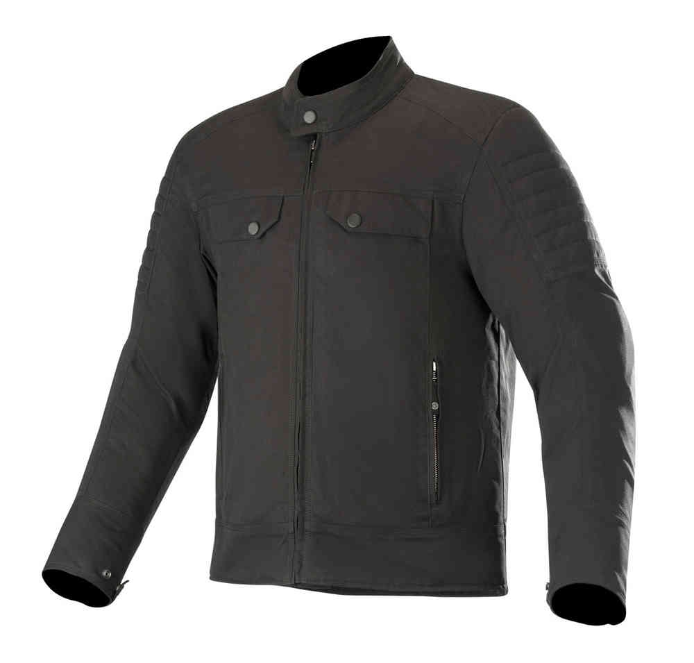 Giubbino moto Alpinestars RAY CANVAS V2 Nero 1