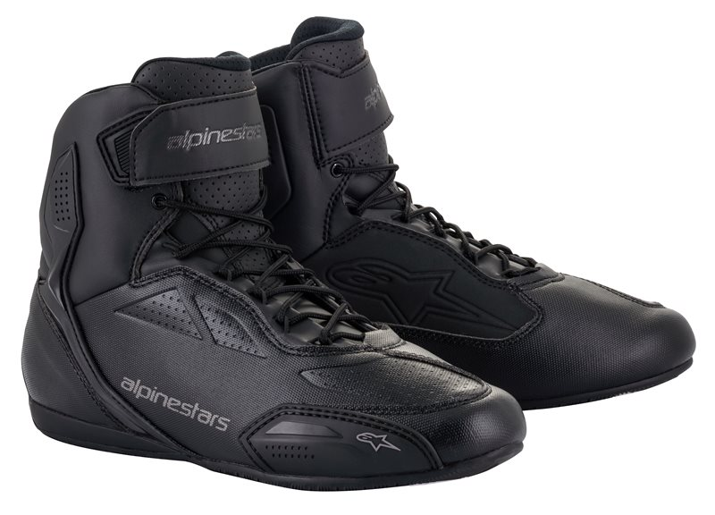 Scarpe moto Alpinestars FASTER 3 Black Cool Gray 1