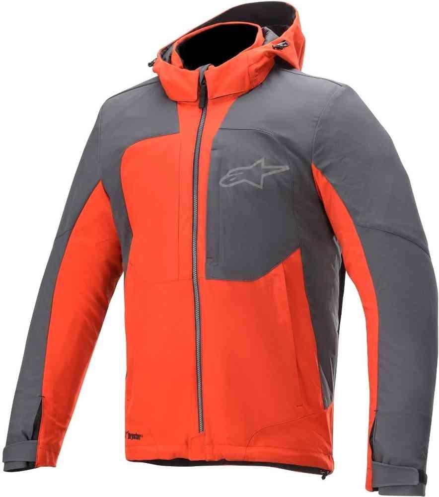 Giacca moto Alpinestars STRATOS TECHSHELL DS arancio grigio 1