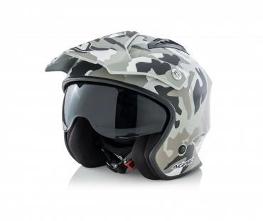 Casco jet Airoh H20 COLOR Black Matt