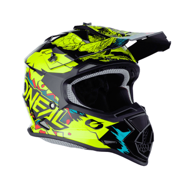 Casco Airoh cross enduro TWIST 2.0 FRAME Blue Gloss