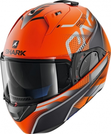 Casco modulare crossover Airoh EXECUTIVE LINE Anthracite Matt