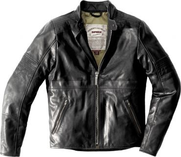 Giubbino moto pelle donna Rev'it ERIN LADIES nero