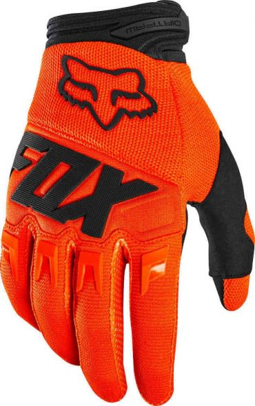 Guanti Cross Enduro FOX DIRTPAW 2021 - fluorescent yellow