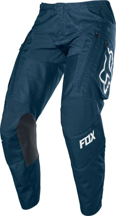 Completo cross enduro Fox 360 LINC Blue Red 2020 pantaloni+maglia