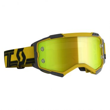 Occhiali (maschera) cross 2020 Scott PROSPECT WFS blue yellow con Roll Off