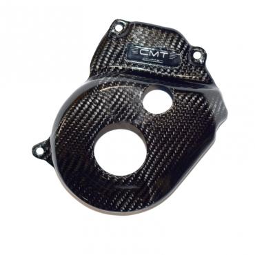 Protezione carter frizione in carbonio CMT per Kawasaki KXF 450 19-20  cod.000742